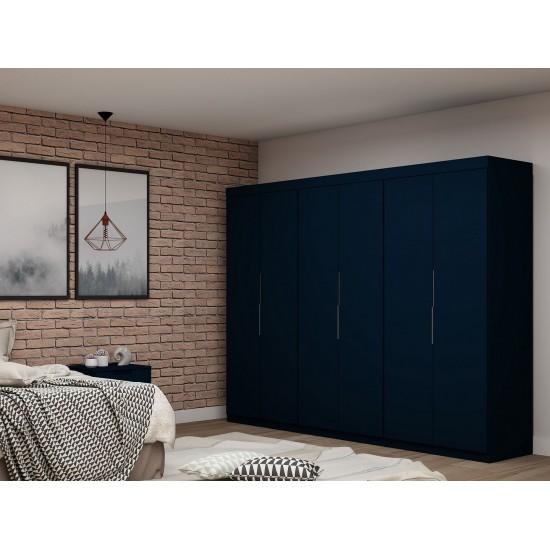Mulberry 2.0 Wardrobe Closet - Set of 3 in Tatiana Midnight Blue