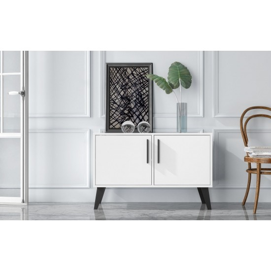 Amsterdam Double Side Table 2.0 in White
