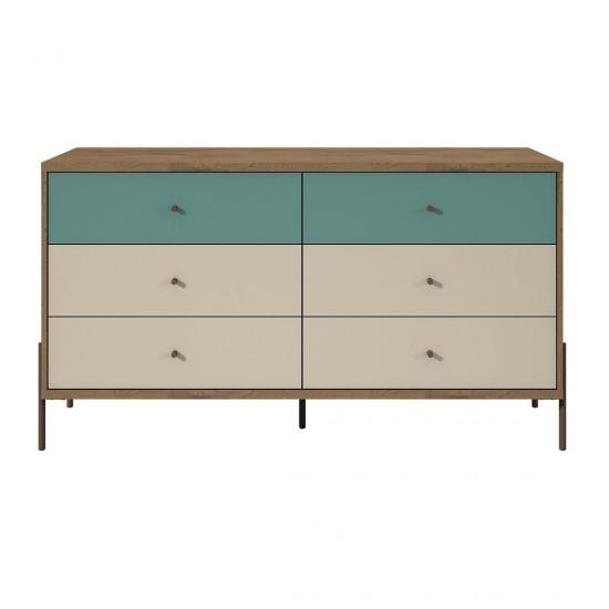 """Joy 59"""" Double Dresser in Blue"""