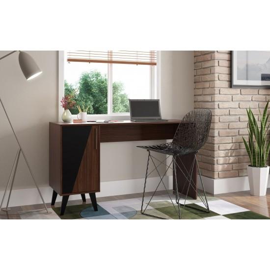Hogan Office Desk in Dark Brown