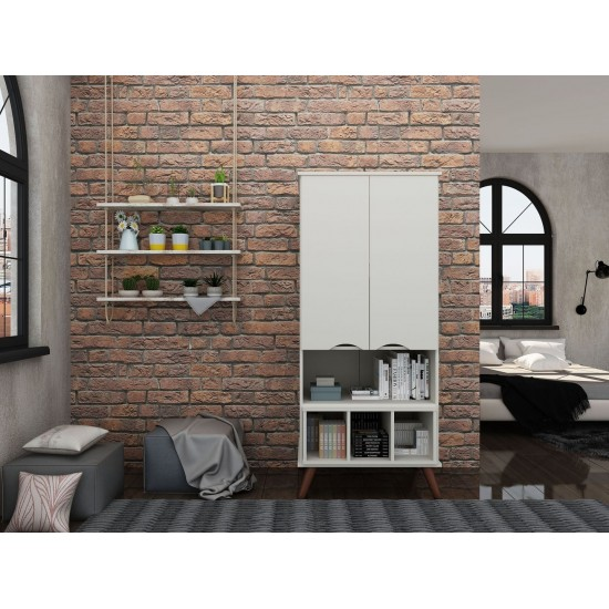 Hampton 26.77 Display Cabinet in Off White
