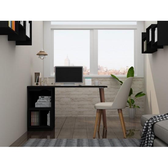 Hampton 53.54 Home Office Desk in Black
