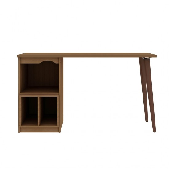 Hampton 53.54 Home Office Desk in Maple Cream