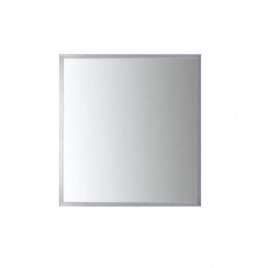 Nuova 34 x 36  Framed Rectangular Bathroom Vanity Mirror in Polished Chrome