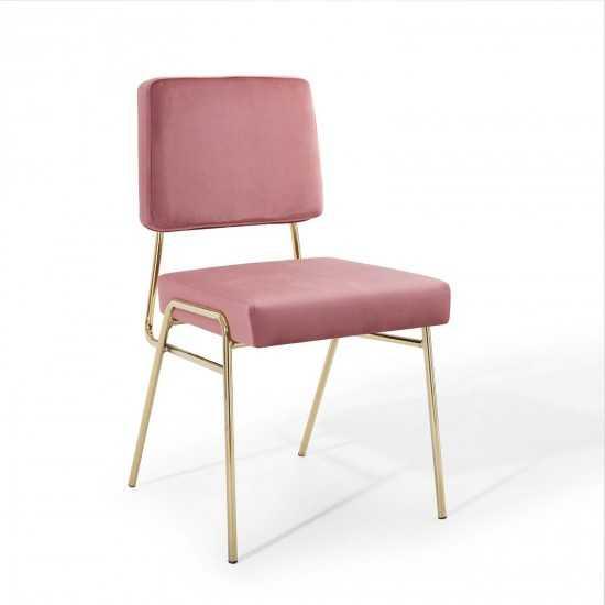 Craft Performance Velvet Dining Side Chair