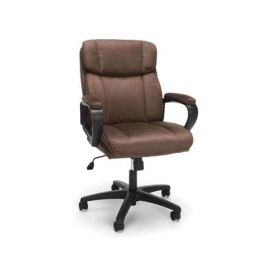 Essentials by OFM ESS-3082 Plush Microfiber Office Chair
