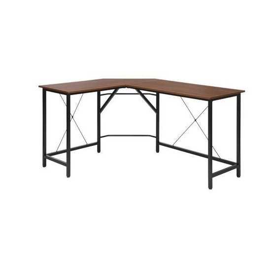 """OFM Essentials Collection 58"""" Modern L-Shaped Desk, Corner Desk (ESS-1060)"""