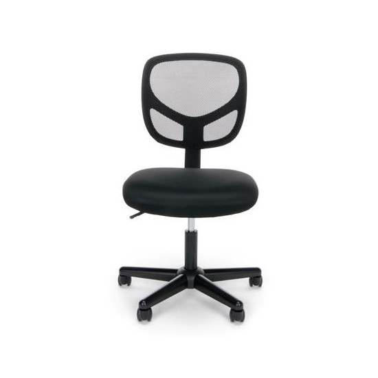 OFM Essentials Collection Mesh Back Office Chair, Armless (ESS-3000)