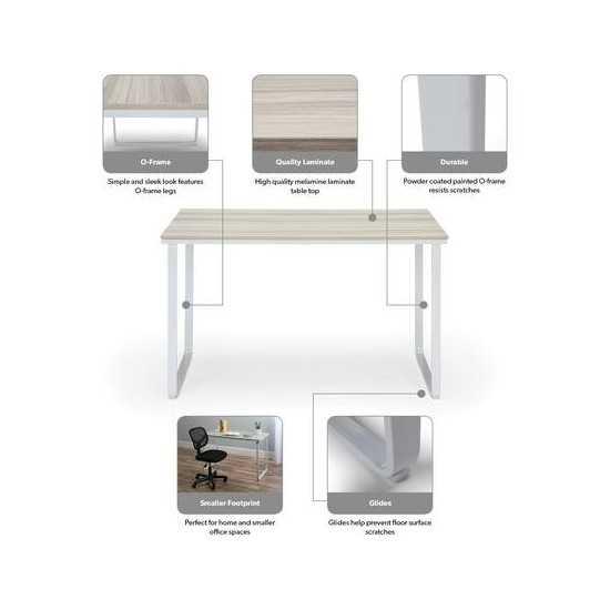 "OFM Essentials Collection Modern 48"" O-Frame Computer Desk (ESS-1005)"