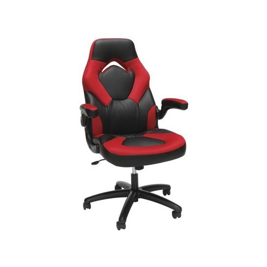 OFM Essentials Collection Racing Style Bonded Leather Gaming Chair (ESS-3085)
