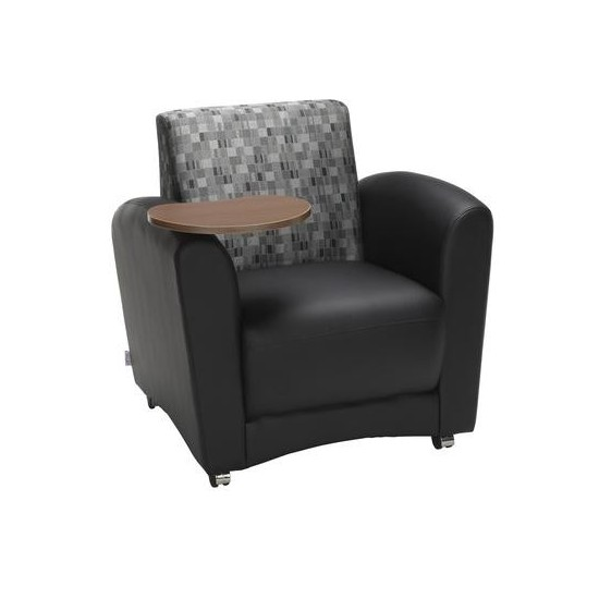 OFM InterPlay Series Single Seat Chair with Bronze Tablet (821-N)
