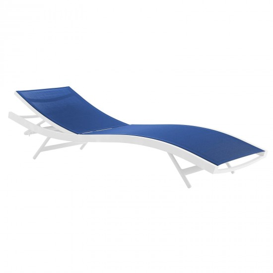 Glimpse Outdoor Patio Mesh Chaise Lounge Set of 4