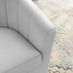 EAGO AM124ETL-R 6 ft Right Corner Acrylic White Whirlpool Bathtub for Two