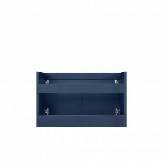 "Geneva 30"" Navy Blue Vanity Cabinet Only"