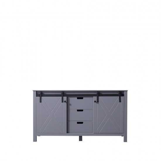 "Marsyas 60"" Dark Grey Vanity Cabinet Only"