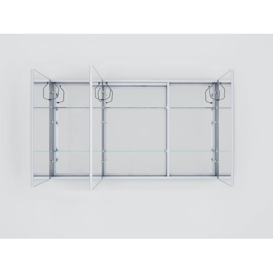 "Lesina 60"" Wide x 32"" Tall LED Medicine Cabinet w/ Defogger"