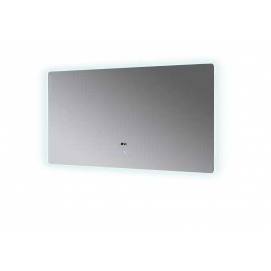 "Lugano 60"" Wide x 32"" Tall LED Mirror w/ Defogger"