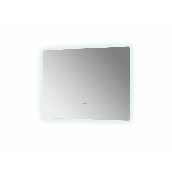 "Lugano 48"" Wide x 36"" Tall LED Mirror w/ Defogger"