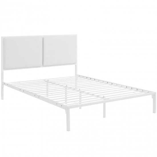 Della King Vinyl Bed