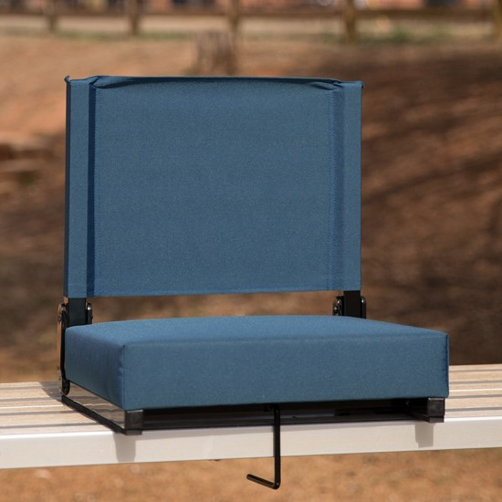 500 LB. Weight Capacity Lightweight Aluminum Frame and Ultra-Padded Seat in Teal
