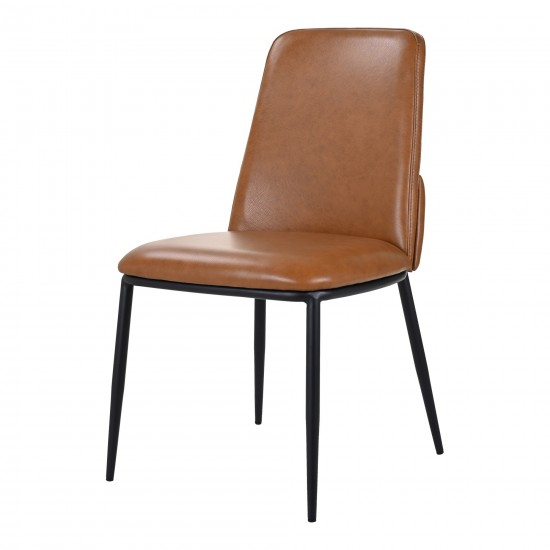DOUGLAS DINING CHAIR BROWN