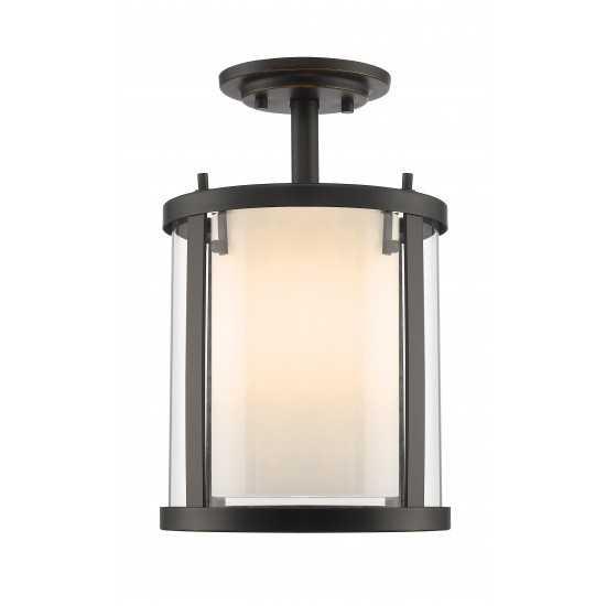 Z-Lite 3 Light Semi Flush Mount