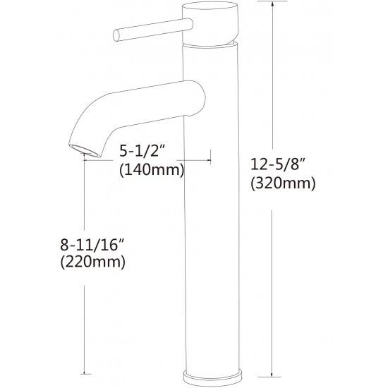 "Tub, Faucet and Tray Set Streamline 59"" Clawfoot NH340CH-CH-100"
