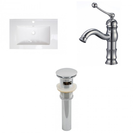 "Tub, Faucet and Tray Set Streamline 59"" Wall Adjacent Apron NH440-140"