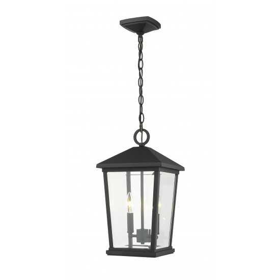 Z-Lite 2 Light Outdoor Chain Mount Ceiling Fixture