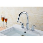 3H8-in. CUPC Approved Brass Faucet In Chrome Color