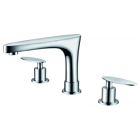 18.25-in. W Drop In White Vessel Set For 3H4-in. Center Faucet