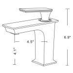 "Neptune DE3660 Delight 60"" x 36"" Customizable Rectangular Bathroom Tub"