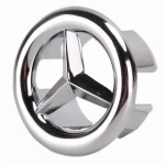 10-in. W Round Stainless Steel Above Counter Magnifying Mirror In Brushed Nickel Color