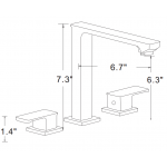 11-in. W Above Counter White Vessel For 1 Hole Center Drilling