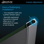 15.25-in. W Round Undermount Sink Set In White - Chrome Hardware