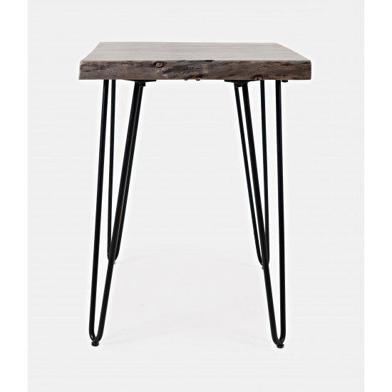 Nature's Edge Solid Acacia Chairside Table