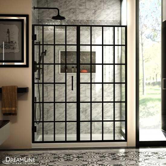 35.5-in. W 23.5-in. H Modern Plywood-Veneer Wood Mirror In White