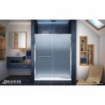 68.75-in. W 18-in. D Modern Plywood-Melamine Vanity Base Set Only In White-Dawn Grey