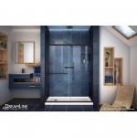 50.75-in. W 18-in. D Modern Plywood-Melamine Vanity Base Set Only In Dawn Grey