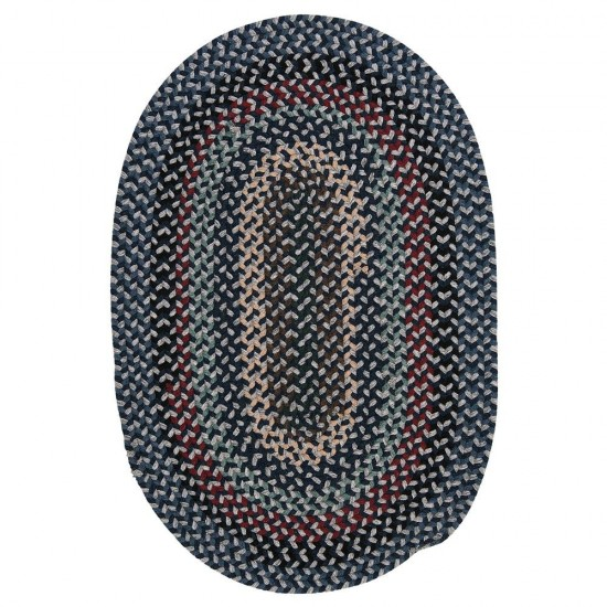 Colonial Mills Rug Boston Common Winter Blues Oval