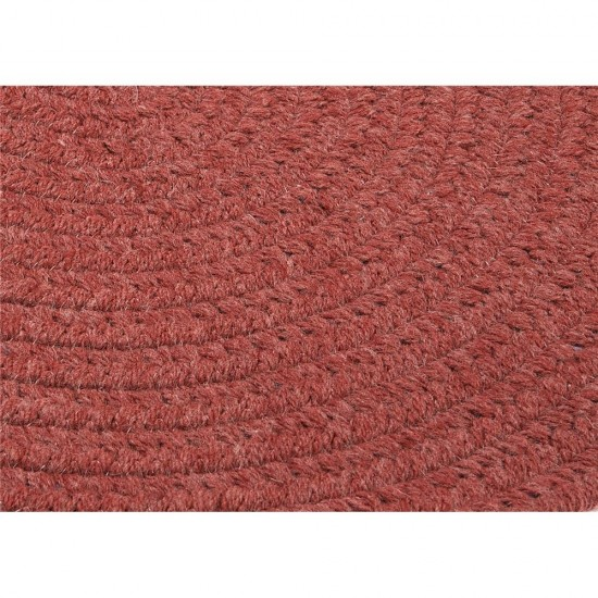 Colonial Mills Rug Bristol Rosewood Oval