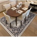30.5-in. W Floor Mount Coffee Vanity Set For 3H4-in. Drilling Black Galaxy Top White UM Sink