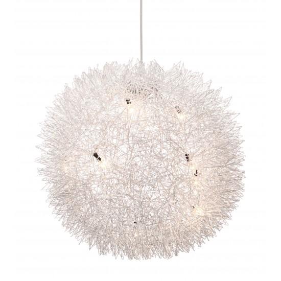 Warp Ceiling Lamp Chrome