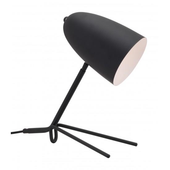 Jamison Table Lamp Matte Black