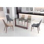 23.62-in. W 39.37-in. H Modern Stainless Steel-Plastic-Nylon Office Chair In Black