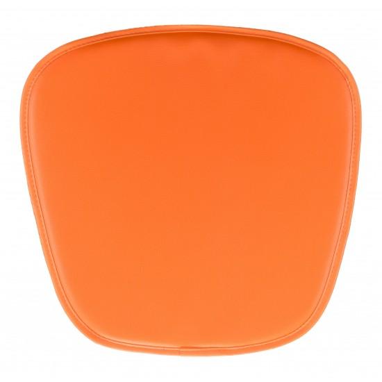 Wire Mesh Cushion Orange