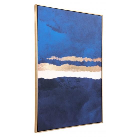 Ocean Horizon Canvas Multicolor