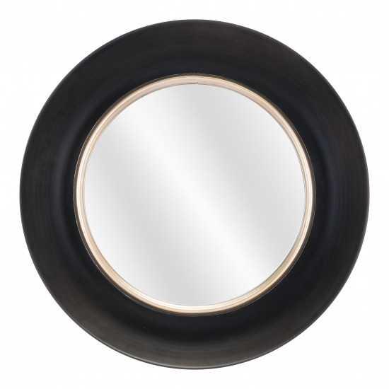 Leighton Mirror Black