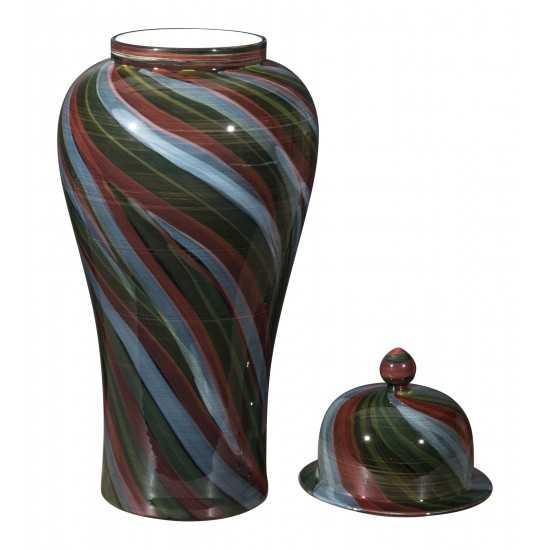 Large Galax Jar Multicolor