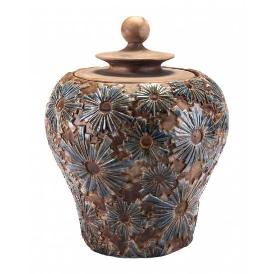 Small Cusco Temple Jar Brown